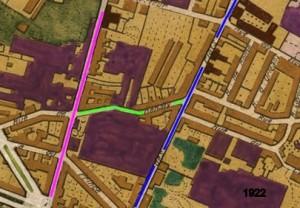 rue de guisnes et de renaix 1922