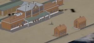 zoom sur la cour de gare