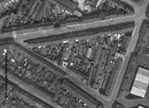 angle rue des piats et croix rouge 1930