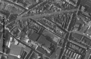 angle rue des piats et croix rouge 1960