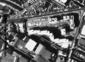 angle rue des piats et croix rouge 1983