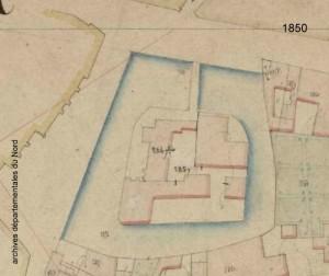 plan chateau 1850