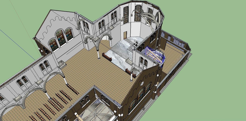 histoire du virolois l glise st joseph 3d d taill e l int rieur. Black Bedroom Furniture Sets. Home Design Ideas