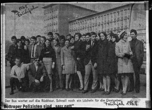 groupe de jeune à tourcoing en 1968