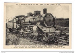 locomotive armistice 1918