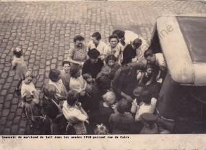 1950 marchand de lait rue du caire