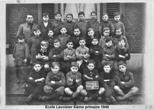 Tg lavoisier 5ème primaire 1945