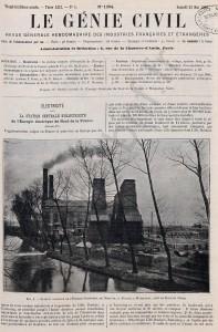 l'énergie electrique du nord de la france en 1908 1
