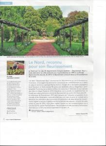 le jardi botanique (article revue Le Nord