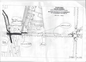 nouveau plan de circulation de la rue de guisnes autour du coll