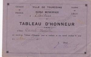 tableau d'honneur école pasteur 1944-03 (col FD)