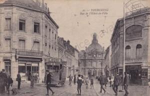 tramway rue de l'hote de ville (col F D)