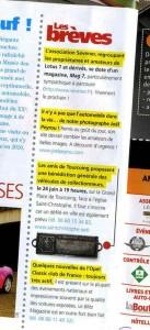 Bénédiction des voitures Saint Christophe Tourcoing 59200, Auto rétro juin 2009