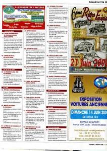 Bénédiction des voitures Saint Christophe Tourcoing 59200, Calendrier LVA