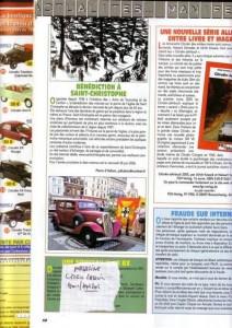 Bénédiction des voitures Saint Christophe Tourcoing 59200 Citropassion 12 août 2005