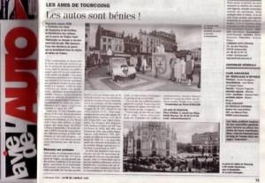Bénédiction des voitures Saint Christophe Tourcoing 59200, La vie de l auto 29 novembre 2004