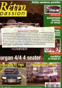 Bénédiction des voitures Saint Christophe Tourcoing 59200 Rétropassion 20 septembre 2005