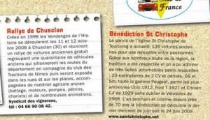Bénédiction des voitures Saint Christophe Tourcoing 59200, Retopassion 211, Octobre 2008