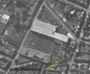 la cheminée Mallard en 1962