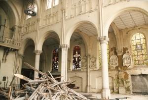 eglise de la croix rouge intérieur 4